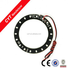 80mm 3528 18SMD Green Flash Auto Motorcycle LED Ring light Angel Eyes ring Decorative lights