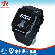 factory price and fast delivery gps gsm wrist watch tracker TK98 with SOS