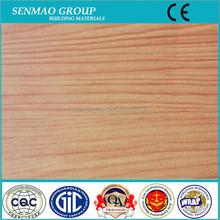 Wooden look 3mm/0.12mm PE Aluminum Plastic Composite Panel ACP