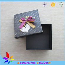 Small size gift packaging boxes/factory custom made beautiful paper boxes