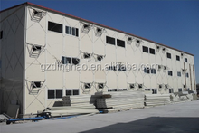 steel structure low cost prefab house for sale in guangzhou
