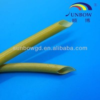 Excellent benzene&wear resistant PU fiberglass sleeve for wiring insulation