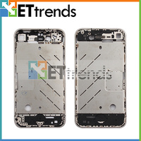 Wholesale Housing Back Cover Metal Middle Plate for iPhone 4