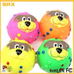 Small Dog Pet Puppy Cat,Squeaky Vinyl Play Toy Balls manufacturer,custom cheap vinyl pet toys factory