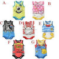 baby toddler clothing infant cartoon partten clothing baby romper wholesale baby bodysuit