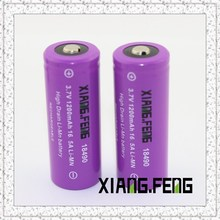 xiangfeng 18500 1200mah 3.7V li-ion battery cell rechargeable 18500 battery