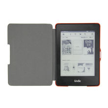 High Quality PU Leather Brown Case for Amazon Kindle Paperwhite Leather Case Cover