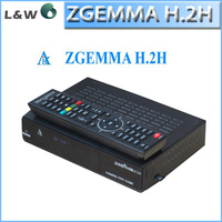 2015 New version ZGEMMA H.2H dvb-s2 dvb-t2/c satellite receiver supporting SD card fast Hybrid Terrestrial receiver Zgemma H.2H