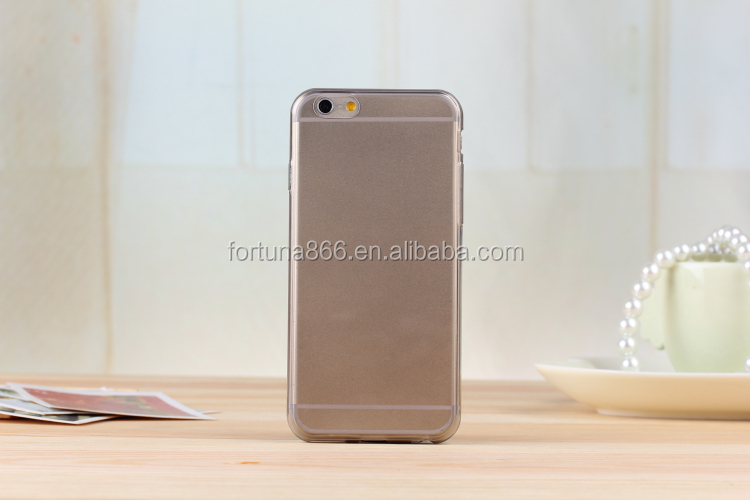 New Product Mobile phone TPU Material Crystal Case for iPhone 6 Case