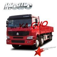 Howo van cargo truck 336hp