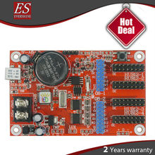 2015 New! TF-A6H/A5H USB led controller card Free Driver Support Temperature sensor Russian, English, Hebrew,portugese language