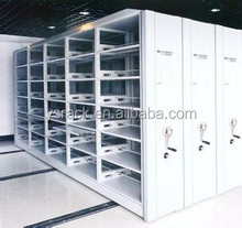 Metal Library Mobile Shelving System,High Density Store Electronic Mobile Racking System