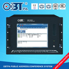 OBT-9800 Top one, All digital control network PA system for buildings