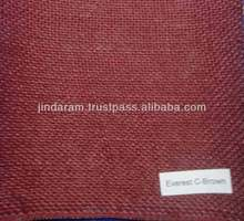 jute cotton blend fabric for bed