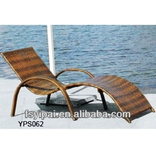 2014 Durable aluminum outdoor indoor rattan swing chair lounge chairs YPS062