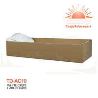 TD-AC10 Wholesale cremation paper cardboard casket interior lining