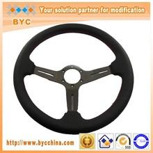 14inch Leather Go Kart Steering Wheel, Classic Steering Wheel
