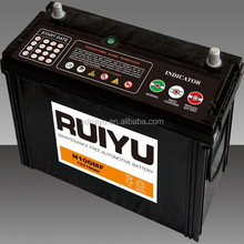 N100 12v 100ah MF automative battery ,starting battery/JIS standard