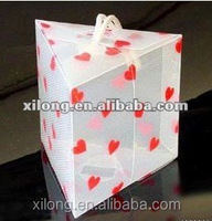 stylish clear PVC packaging box, plastic gift box packaging, gift packaging plastic box