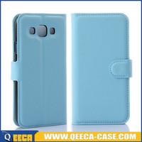 Slim pu leather flip cover for samsung galaxy e5,case cover for samsung e5