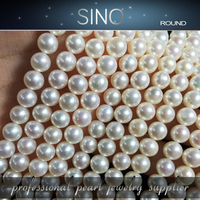 6-7mm AAA low price of mother of freshwater pearl nature pearl price silver loose pearl