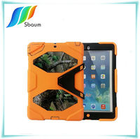 Hot Sell Stand plastic silicone case for ipad IPAD 2/3/4 skin cover