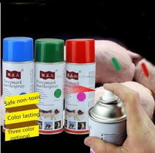 spray livestock marker for animal 3 color permanent marker animal marking pen