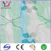plain style with decorative lace mesh fabric for double bed mosquito net