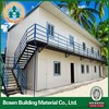 prefabricated house with asphalt shingle roof decoration materials