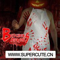 2014 wholesale unique Butcher design China cotton apron
