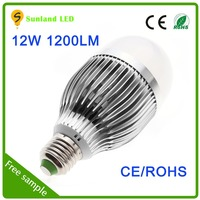 New product promotion CE ROHS SMD5730 AC85~265 12W motorcycle led bulb