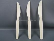 La alta calidad superventas transparente PP niños de plástico cuchillo