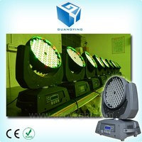 Low price 108x3w or 108 x 3w or 108*3w rgbw wall wash zoom 108 led moving head light sky