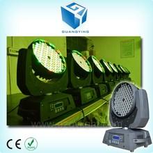 Low price 108x3w or 108 x 3w or 108*3w rgbw wall wash zoom 108 led moving head light sky