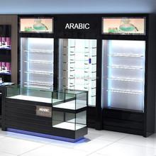 high end display perfume showcase for shopping mall