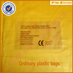 [Hot sale]OPP packaging see through bag of PP polypropylene