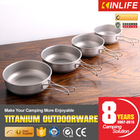 Titanium 9pcs Cookware Set With Cook Pan And Cooking Pot Set