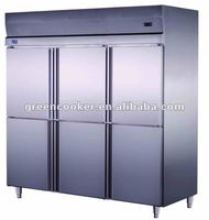 commercial double temperature freezer and chiller