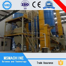 direct factory low price calcined gypsum plaster powder production line on promotion