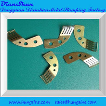 metal stamping process,battery contacts,copper terminal