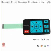 Customization metal dome push button membrane switch