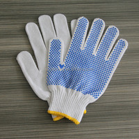 Personal Safety Equipment Working Gloves Work Used PVC Gloves Working Gloves