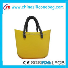 new style silicone beach handbag sling bags for woman