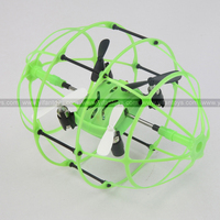 2.4G remote control 4CH wall climbing ufo led grow light RC Quadocopter/rc toys