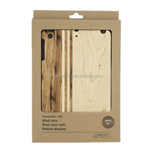 For IPad Mini 2 Wooden Cover, Hard Back Cover for IPad Mini 2 New Product in China