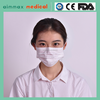 medical 1ply 2ply 3ply nonwoven disposable face mask with earloop or tie