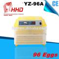 2014 caliente venta ce certificater completamente automático mini 96 fertilizado los huevos de gallina
