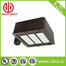 LED shoebox DLC UL ETL IP65 parking lot street light area luminaire Bronze color