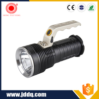 Convex Lens Zoom colorful rechargeable led mini flashlight