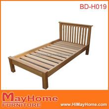 heavy duty short legs wooden bed